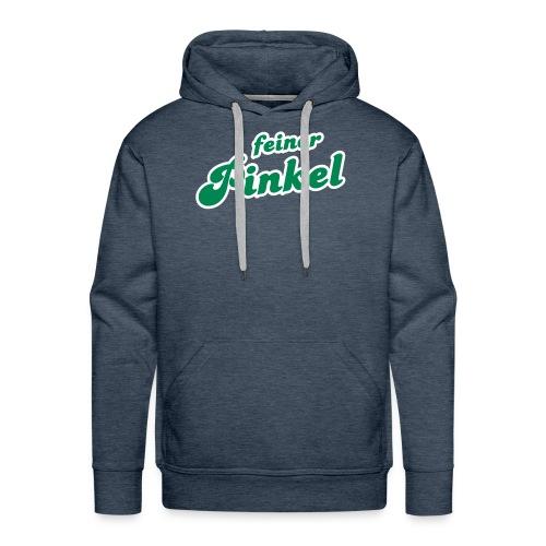 feiner Pinkel (2c) | Motiv für Kohlfahrt/Grünkohlfaht | Selber gestalten Pullover - Männer Premium Hoodie