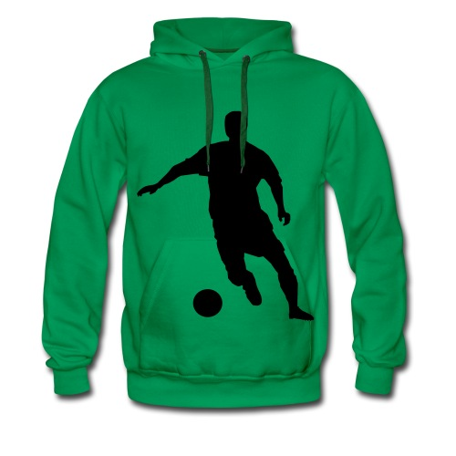 Mannen voetbal sweater - Mannen Premium hoodie