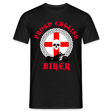 Proud English Biker T-Shirts