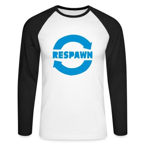 respawn - Maglia da baseball a manica lunga da uomo