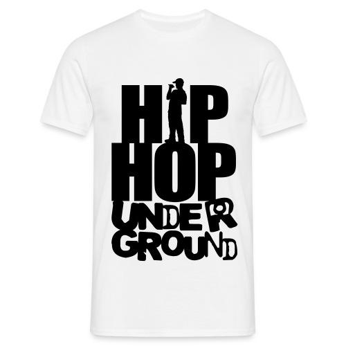 t-shirt hip hop underground - T-shirt Homme