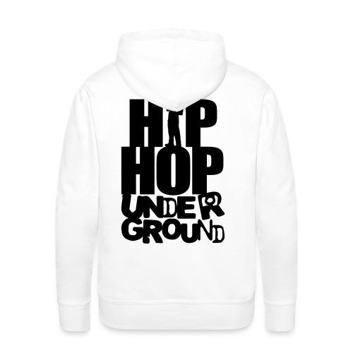 sweat hip hop underground - Sweat-shirt à capuche Premium pour hommes