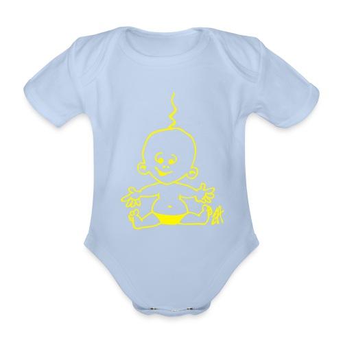 Baby Boy - Body orgánico de maga corta para bebé