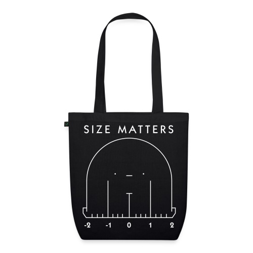 Size Matters Monster - EarthPositive Tote Bag