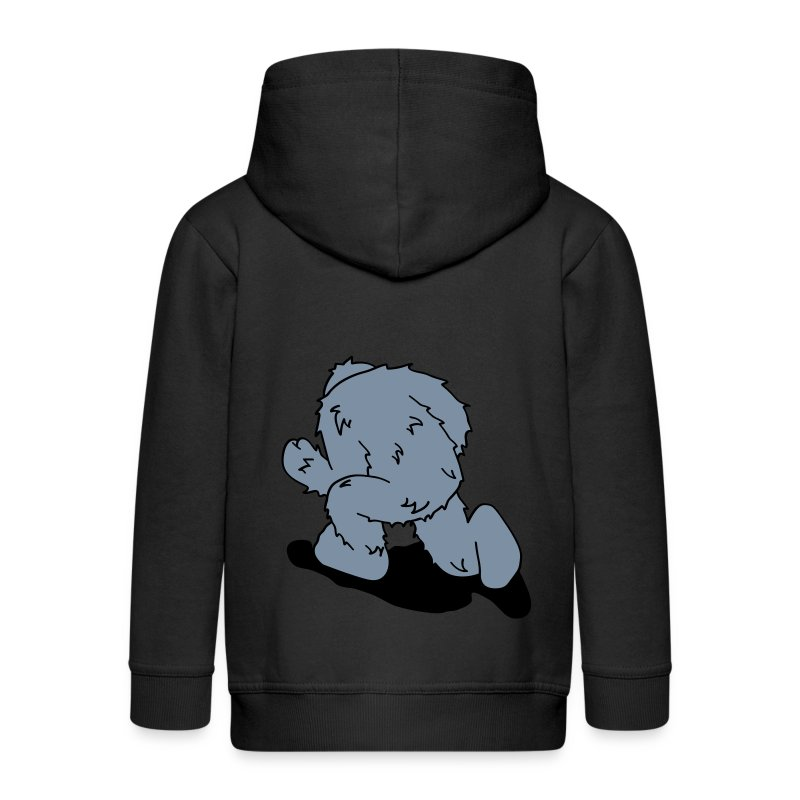Run Away! - Kids' Premium Zip Hoodie