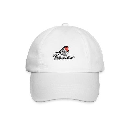 Baseball Cap with Robin Print - Baseball Cap