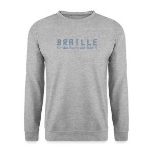 Braille für das Recht auf Schrift - Pullover - Männer Pullover