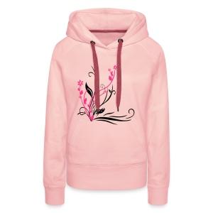 Pullover mit Kapuze - Frauen Premium Hoodie