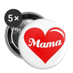LOVE MAMA STICKERS - Buttons large 56 mm