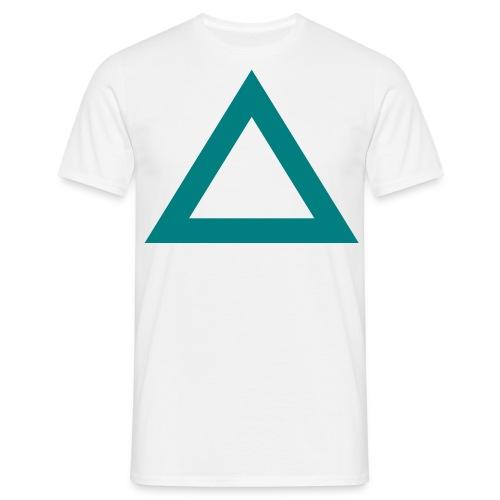 Triangle  - Männer T-Shirt