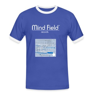 Mind Field Records Synth Happiness T-Shirt - Men's Ringer Shirt