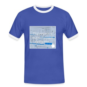 Happiness is a warm Analogue Synthesizer T-Shirt - Men's Ringer Shirt