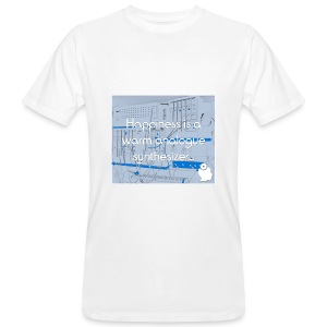 Happiness is a warm Analogue Synthesizer T-Shirt - Men's Organic T-shirt