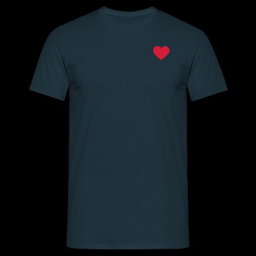 Men's Heart T-Shirt - Men's T-Shirt