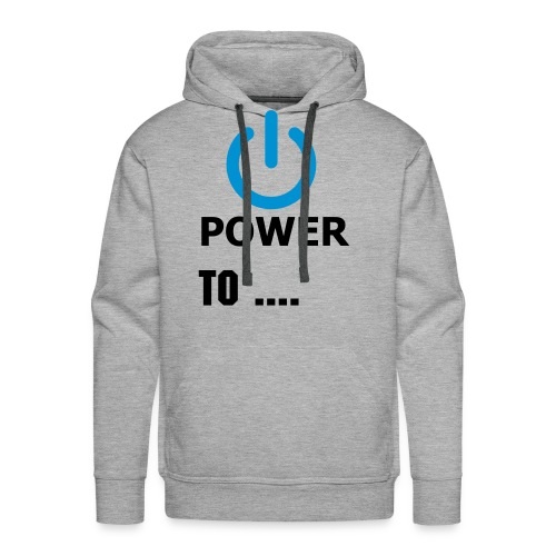 Power to Scoot - Männer Premium Hoodie