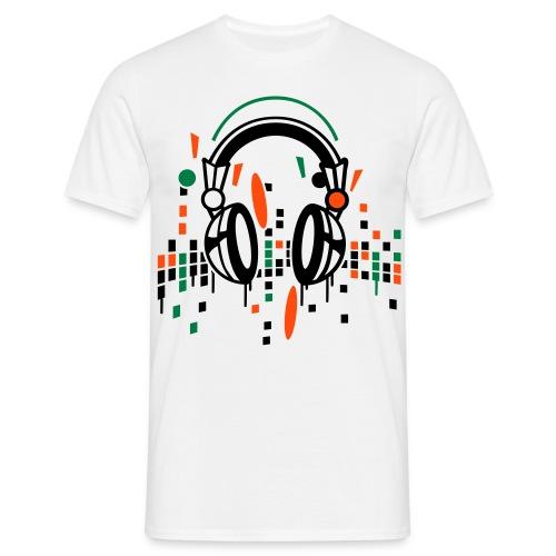 DJ Headphones - Männer T-Shirt