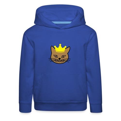 Kinder Kapuzenpulli Kitteh Prince - Kinder Premium Hoodie