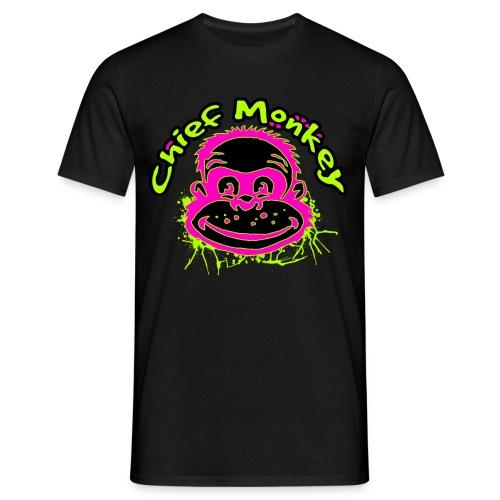 Chief Monkey - Fanshirt - Männer T-Shirt