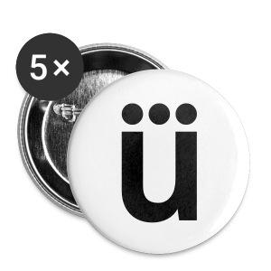 ü - Buttons groß 56 mm