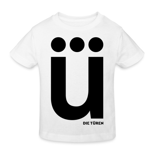 ü - Kinder Bio-T-Shirt