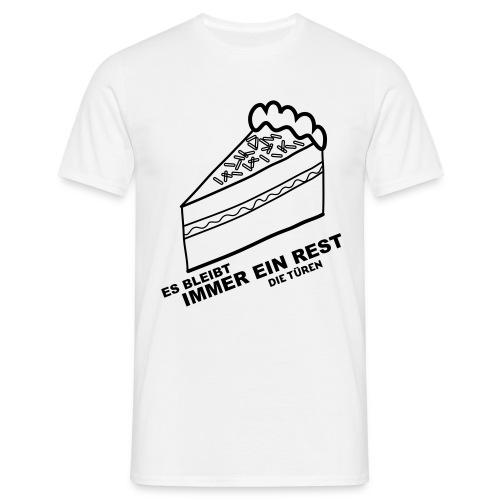 Es bleibt immer ein Rest - Männer T-Shirt
