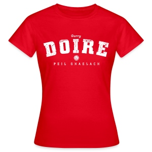 Vintage Derry Gaelic Football T-Shirt - Women's T-Shirt