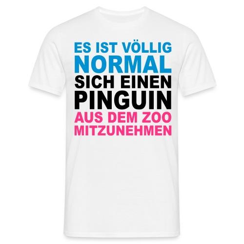 Pinguine - Männer T-Shirt