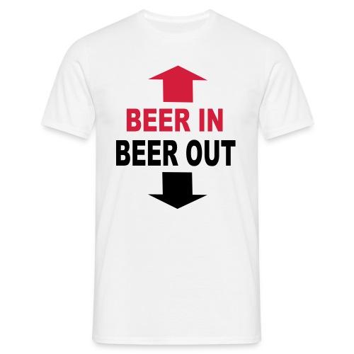 Beer - Männer T-Shirt