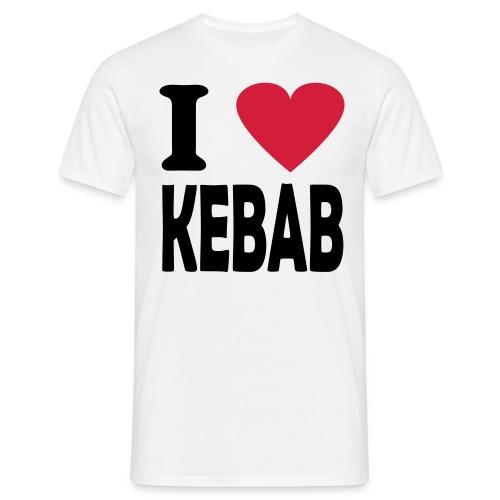 Kebab - Männer T-Shirt