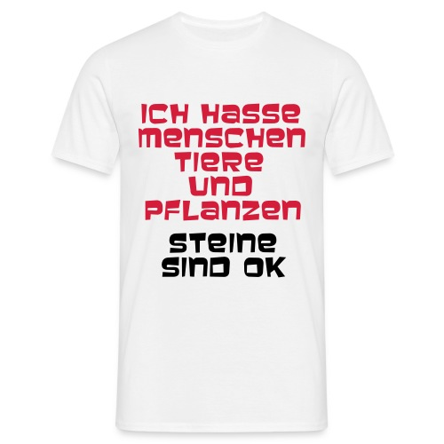 Steine - Männer T-Shirt