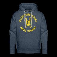 Pullover & Hoodies ~ Männer Premium Kapuzenpullover ~ Mützenfuchs