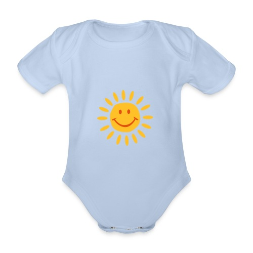 babys xshort sleeve - Organic Short-sleeved Baby Bodysuit