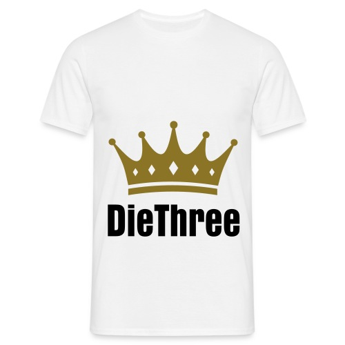 DieThree Men - Männer T-Shirt