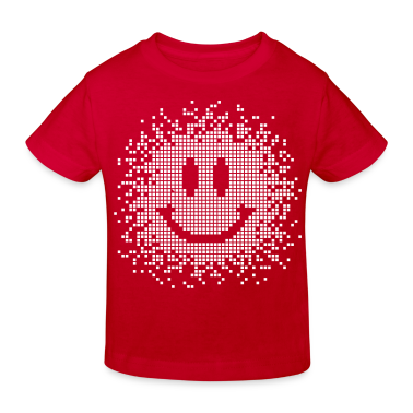 Red Smilie - Smiley - funny Kids' Shirts