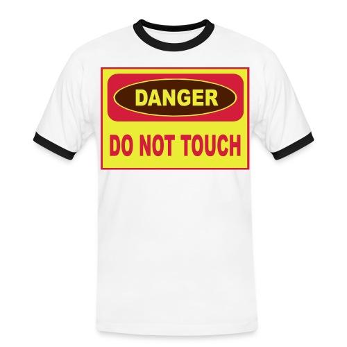 suPinkBeer - Männer Kontrast-T-Shirt