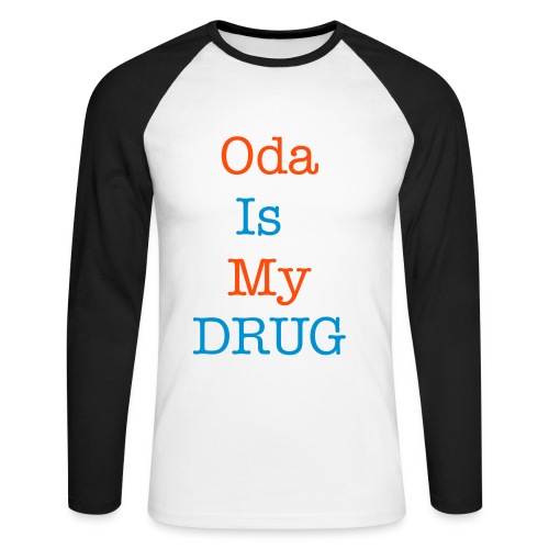 Polo Homme Oda Is My Drug - T-shirt baseball manches longues Homme