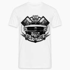 "T-shirt homme ""Old school"""
