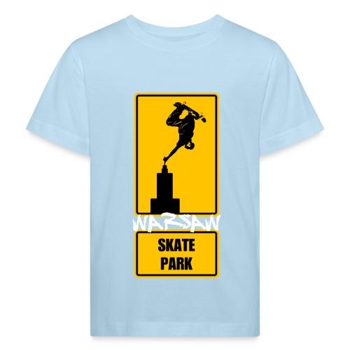 Warsaw Skate Park - Kids' Organic T-shirt