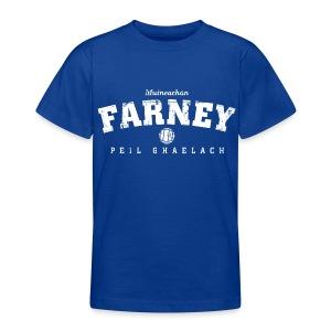 Vintage Monaghan Football T-Shirt - Teenage T-shirt