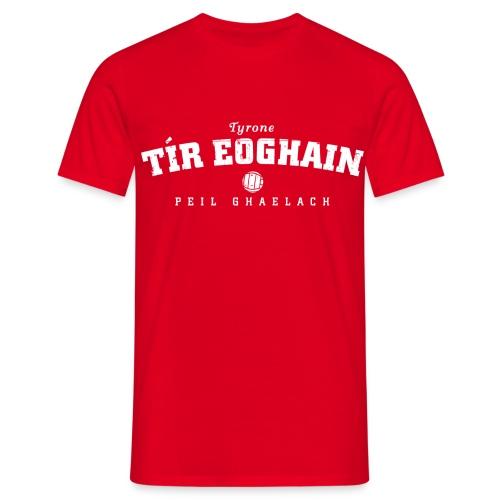 Vintage Tyrone Football T-Shirt - Men's T-Shirt