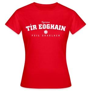 Vintage Tyrone Football T-Shirt - Women's T-Shirt