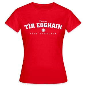 Vintage Tyrone Football T-Shirt - Women's T-Shirt