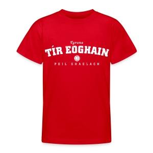 Vintage Tyrone Football T-Shirt - Teenage T-shirt