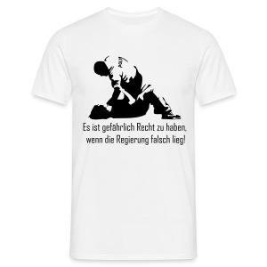 Tough Policeman - Männer T-Shirt