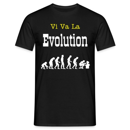 Vi Va La Evolution T-shirt - Mannen T-shirt