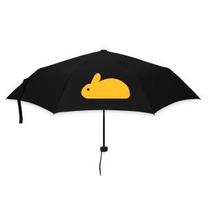 Umbrella with yellow Rabbit - Umbrella (small)