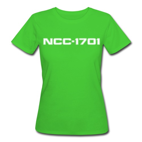 NCC-1701 Women's Slim Fit Organic Shirt - Women's Organic T-shirt