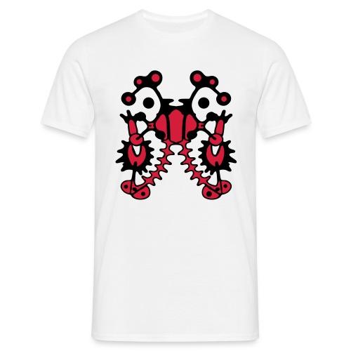 Tattoo Style Art Design - Männer T-Shirt