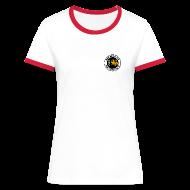 T-Shirts ~ Frauen Kontrast-T-Shirt ~ Artikelnummer 18276970