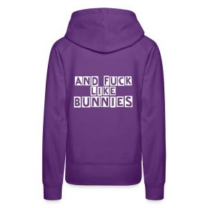Women's Premium Hoodie - All comission goes to vegan outreach